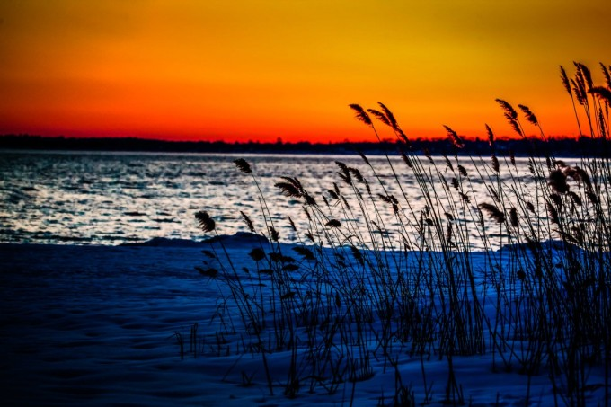Colorful evening…
