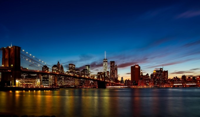 Manhattan twilight…