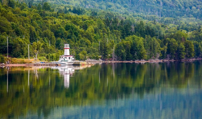 Mirrored Lighthouse…