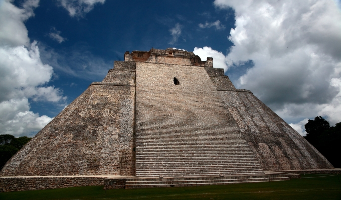 Mayan Pyramid…