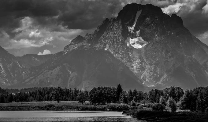 Mount Moran…